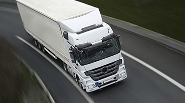 HGV on the road